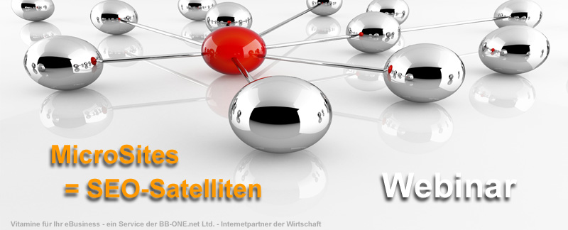 MicroSites als SEO Satelliten-Websites