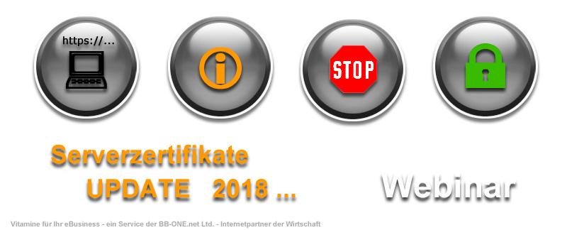 Webinar TLS-Serverzertifikate Update 2018