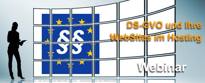 Welche Bedeutung hat die DS-GVO für Ihre Web-Dienste