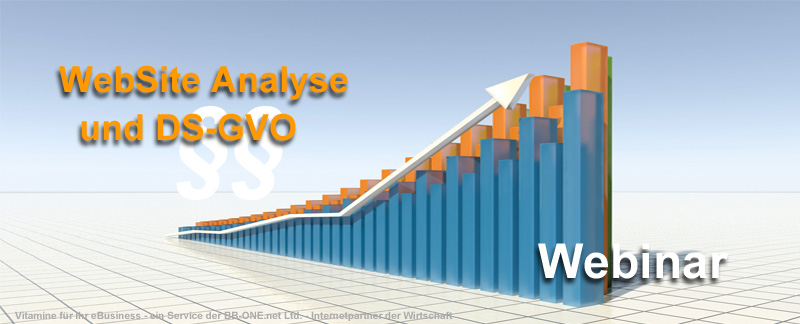 Webinar zum Thema WebSite Analyse-Software in der DS-GVO