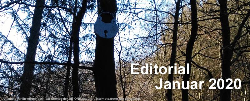 Editorial Januar 2020: Emotet, ein alter Bekannter, macht wieder Probleme