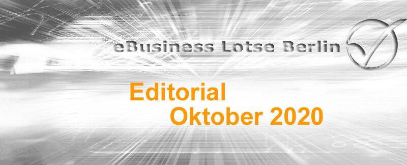Editorial Oktober 2020, Cookies und Cookie-Banner, Umfrage zur E-Mailarchivierung
