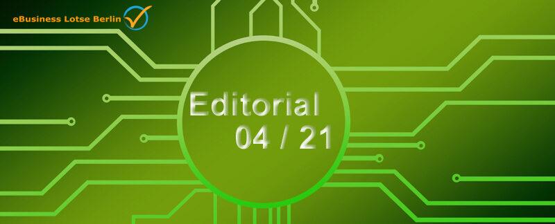 Editorial April 2021: Webcasts Best Practice OpenVPN, Domain-Design