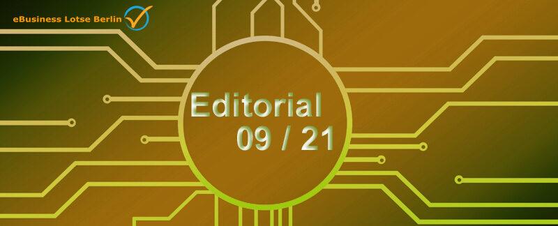 Editorial September 2021: Website-Pflege und CMS-Updates